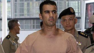 Hakeem al Araibi saliendo en libertad en Tailandia