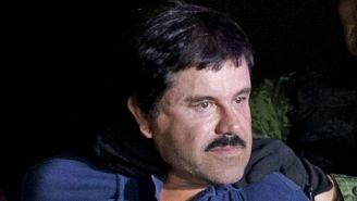 Joaquín 'El Chapo' Guzmán tras ser arrestado