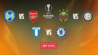 EN VIVO y EN DIRECTO: Europa League 16avos Ida