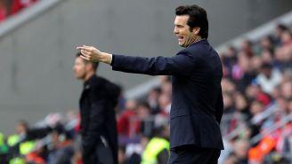 Solari da indicaciones en juego contra Atlético de Madrid