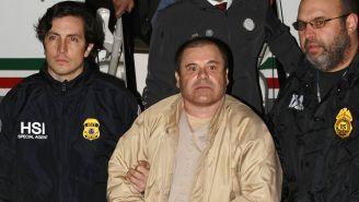 Joaquín Guzman, al momento de su extradición