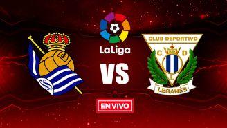 EN VIVO y EN DIRECTO: Real Sociedad vs Leganés