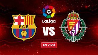 EN VIVO y EN DIRECTO: Barcelona vs Valladolid