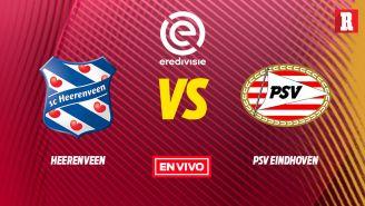 EN VIVO y EN DIRECTO: Heerenveen vs PSV Eindhoven