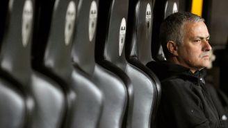 Mourinho tras una derrota del Manchester United