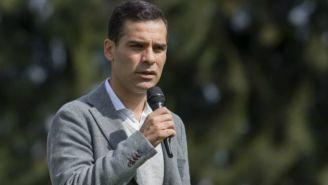 Rafa Márquez durante conferencia con los medios