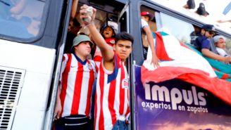 Aficionados de Chivas previo al Clásico Tapatío