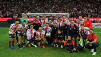Foto que jugadores se tomaron después del partido