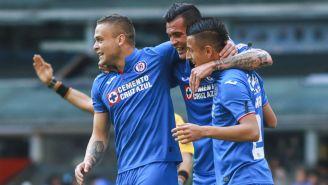 Cruz Azul festeja anotación frente a Santos Laguna