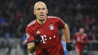 Arjen Robben durante un partido con el Bayern Munich
