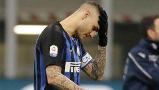 Icardi lamenta error con el Inter de Milán