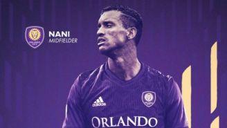 Llamado con el que Orlando City anunció el fichaje de Nani
