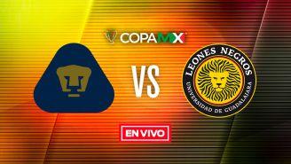 EN VIVO y EN DIRECTO: Pumas vs Cafetaleros