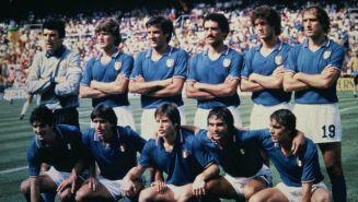 Once de Italia en el Mundial de España 1982