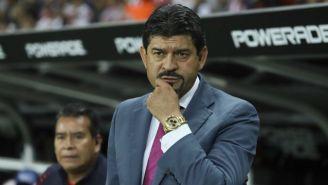 Pepe Cardozo durante un partido de Chivas