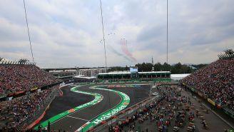 El Autódromo Hermanos Rodríguez en el GP de México
