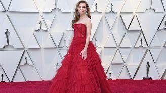 Marina de Tavira durante alfombra roja de los premios Oscars