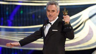 Alfonso Cuarón, durante entrega de los Premios de la Academia