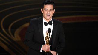 Rami Malek recibe el Oscar a Mejor Actor