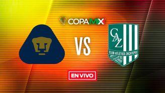 EN VIVO y EN DIRECTO: Pumas vs Zacatepec