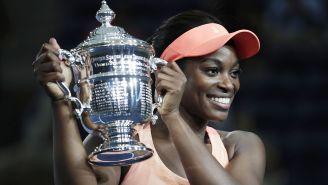 Stephens presume el trofeo del US Open