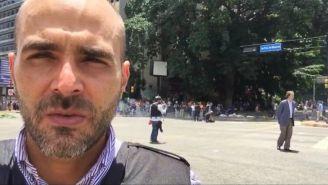 Daniel Garrido, periodista de Telemundo
