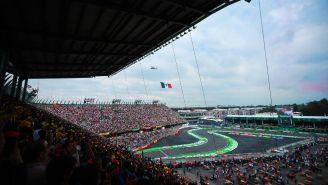 Mucha gente disfruta del Gran Premio de México