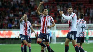 Chivas celebra victoria contra San Luis en Copa MX