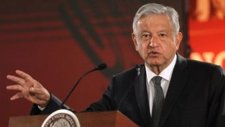 Andrés Manuel López Obrador habla en conferencia de prensa