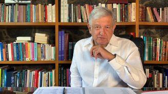 Andrés Manuel López Obrador, durante una sesión