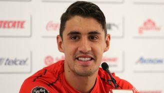 Van Rankin durante conferencia de prensa con Chivas