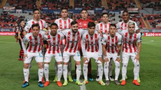 Once de Necaxa para el juego vs Xolos del Clausura 2019