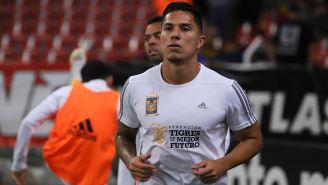 Salcedo previo a un juego con Tigres