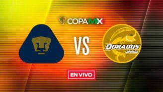 EN VIVO y EN DIRECTO: Pumas vs Dorados