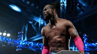 Kofi Kingston en la marca azul de la WWE