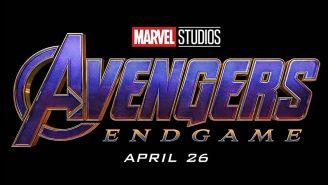 Logo de la película Avengers: End Game