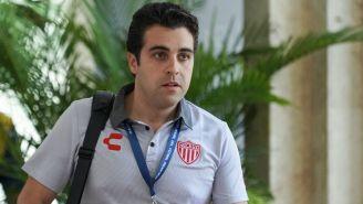 Marcelo Michel Leaño cuando dirigía al Necaxa