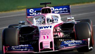 Monoplaza de Checo Pérez en el GP de Australia