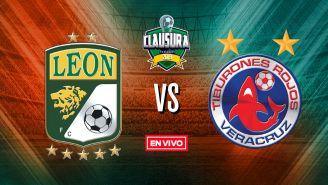 EN VIVO y EN DIRECTO: León vs Veracruz