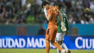Sebastián Jurado llora al confirmarse el descenso del Veracruz