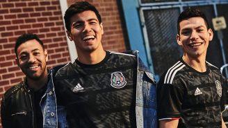 Fabián, Guti y Lozano lucen la camiseta del Tricolor