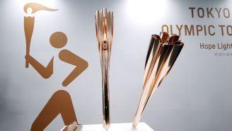 Presentación de la antorcha olímpica de Tokio 2020