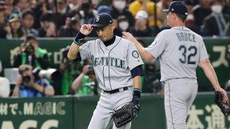 Ichiro Suzuki agradece la ovación de los japoneses