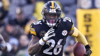 Le'Veon Bell en un juego con Steelers