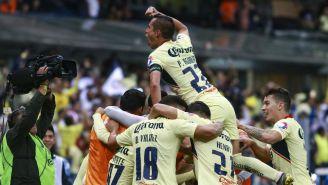 América celebra pase a la siguiente etapa de la Copa MX