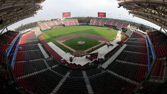 Una panorámica del nuevo estadio de Diablos