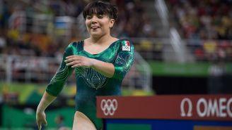 Alexa Moreno durante los Juegos Olímpicos de Brasil
