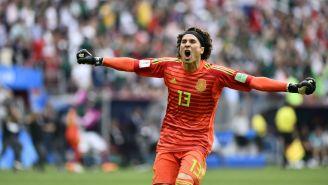 Ochoa celebra triunfo contra Alemania