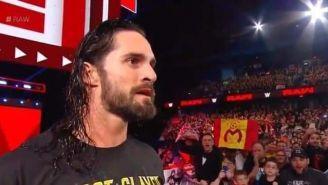 Aficionado de Monarcas presume los colores en transmisión de la WWE