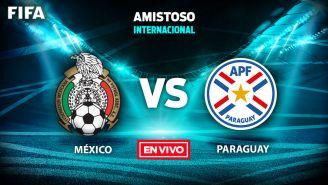 EN VIVO y EN DIRECTO: México vs Paraguay